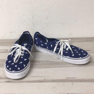 Vans Royal Blue LA Old Skool Low Top Sneaker 11.5